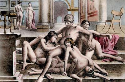 В Древней Греции устраивались невероятные оргии